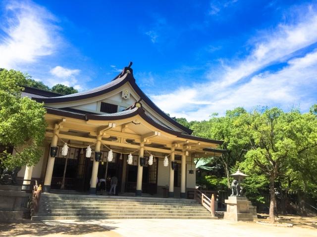 湊川神社の社殿