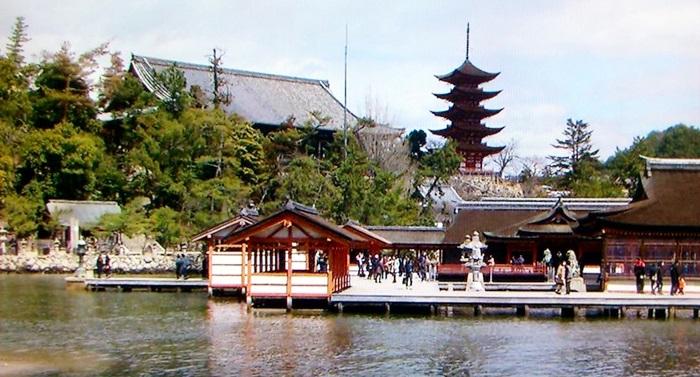 kaiun-厳島神社客神社・五重塔