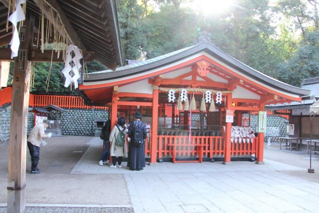 伏見稲荷大社・奥社奉拝所
