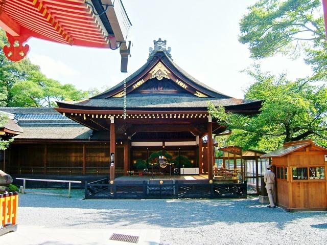 伏見稲荷大社・神楽殿
