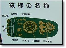 仏足の紋様