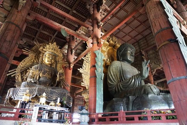 開運スポット・奈良の大仏全体