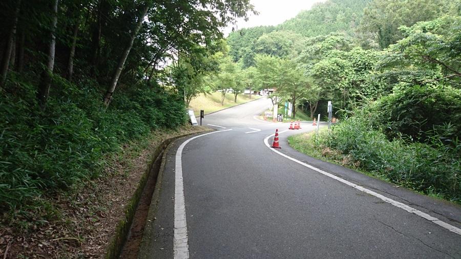 竹田城跡・途中の休憩所が近い