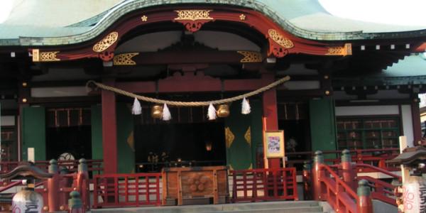 【亀戸天神社】