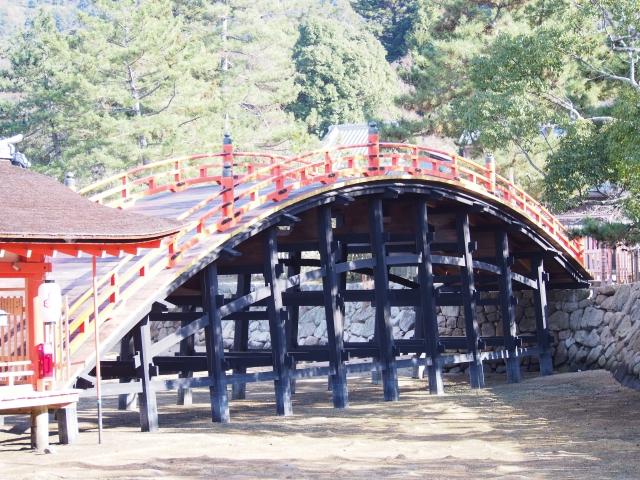 kaiun-厳島神社の反橋