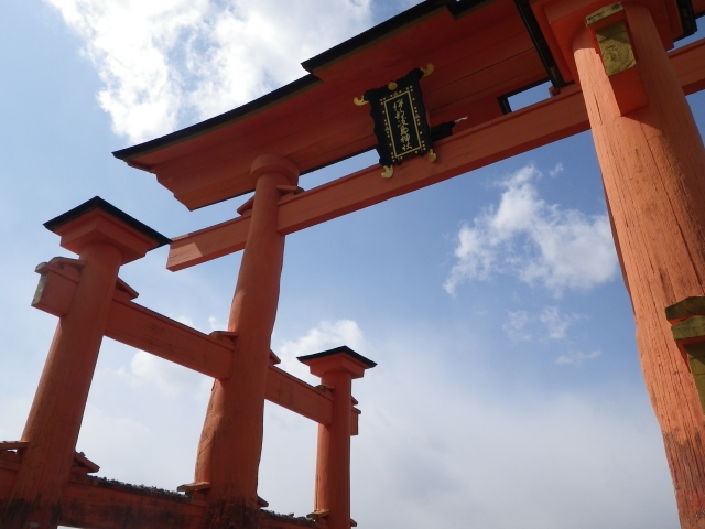 kaiun-厳島神社大鳥居5