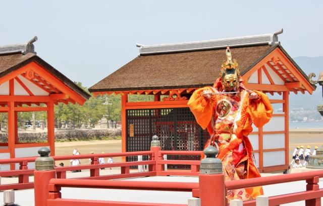 kaiun-厳島神社能舞台
