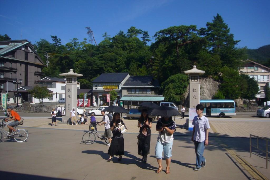 kaiun-宮島桟橋広場