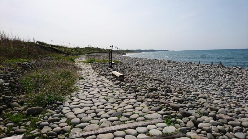 開運パワースポット・鳴り石の浜17