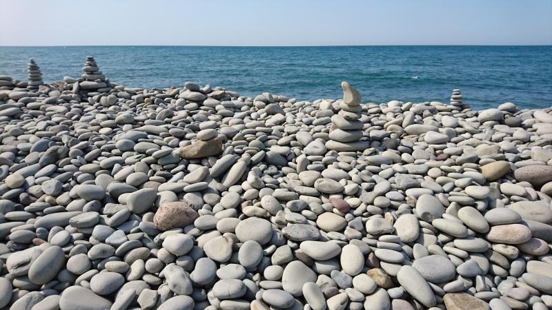 開運パワースポット・鳴り石の浜19