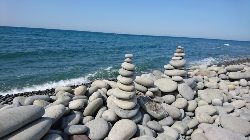 開運パワースポット・鳴り石の浜25