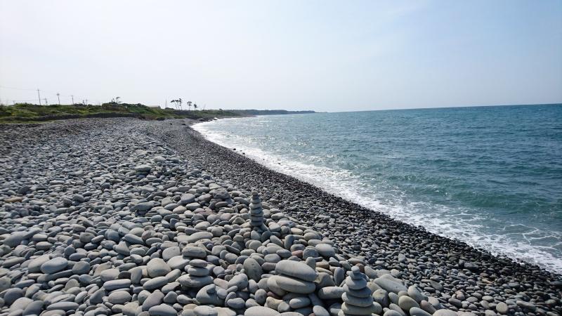 開運パワースポット・鳴り石の浜26