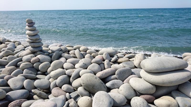 開運パワースポット・鳴り石の浜27