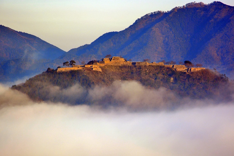 竹田城跡と雲海