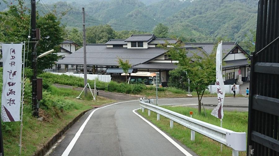 竹田城跡・ここから登頂まで2.2km