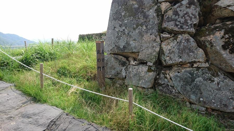 竹田城跡・弐の門