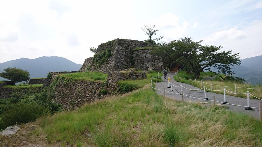 竹田城跡・本丸近い