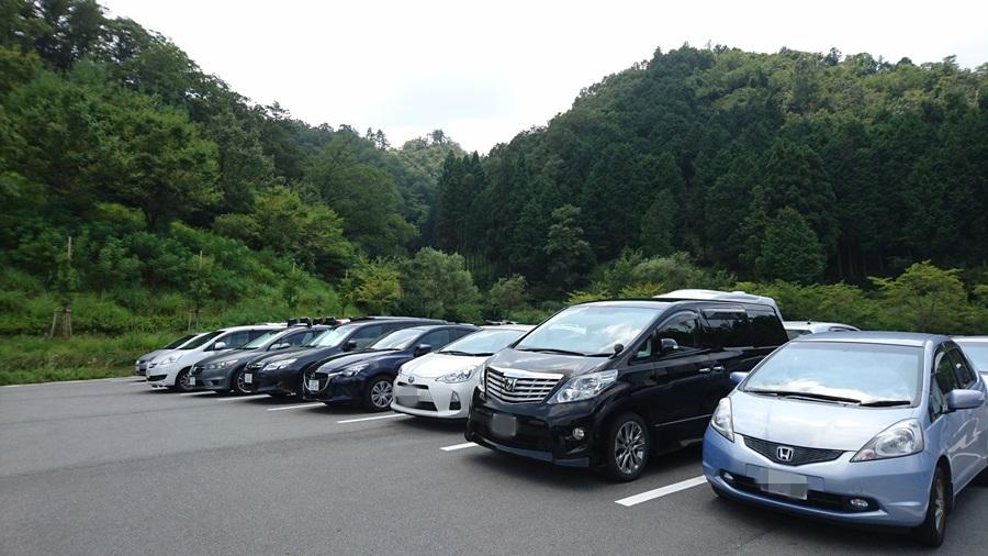 竹田城跡・駐車場