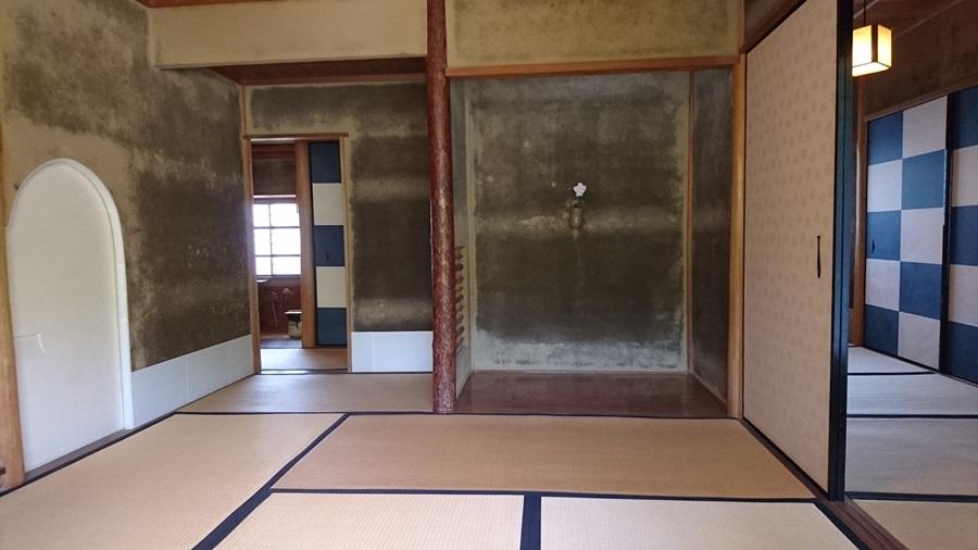 足立美術館・茶室寿立庵内の茶室